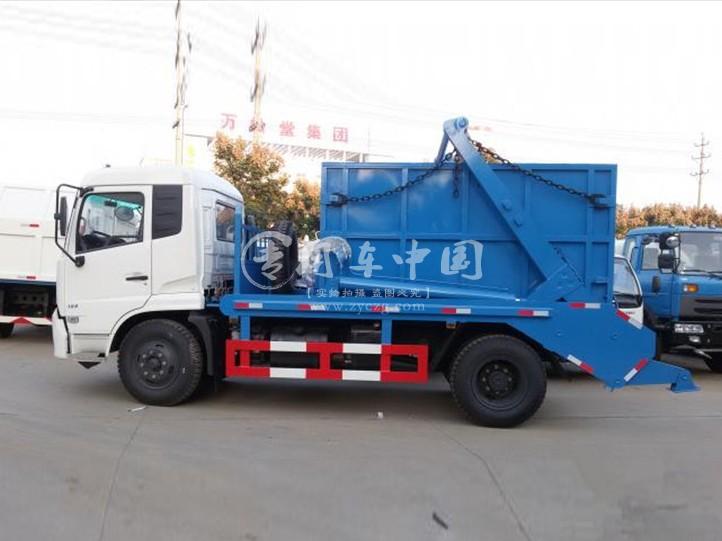 东风天锦12方摆臂式垃圾车