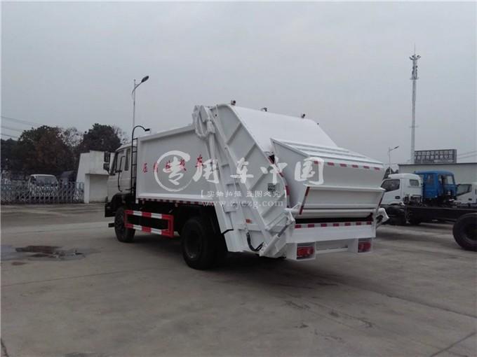 东风8方压缩式垃圾车图片1