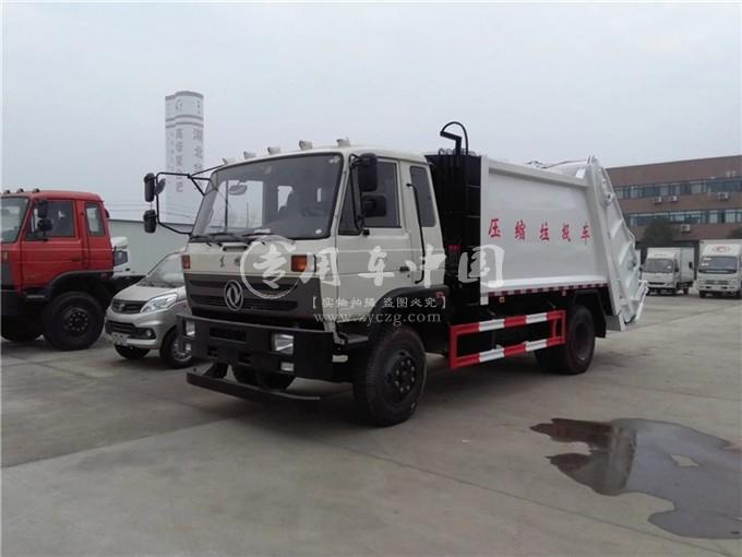 东风8方压缩式垃圾车图片3
