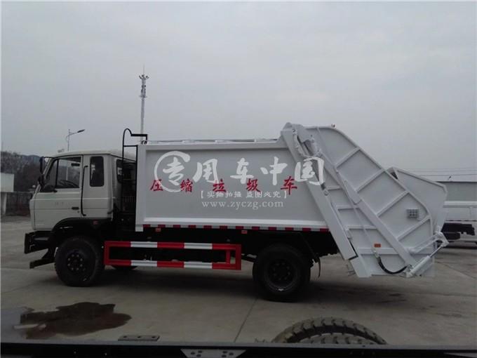 东风8方压缩式垃圾车图片2