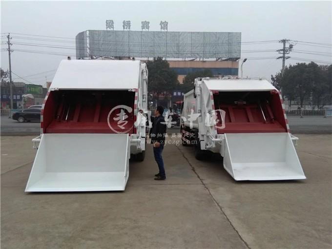 东风10方压缩式垃圾车图片3