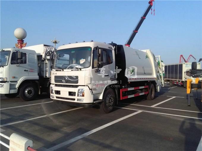 东风12方压缩式垃圾车图片1