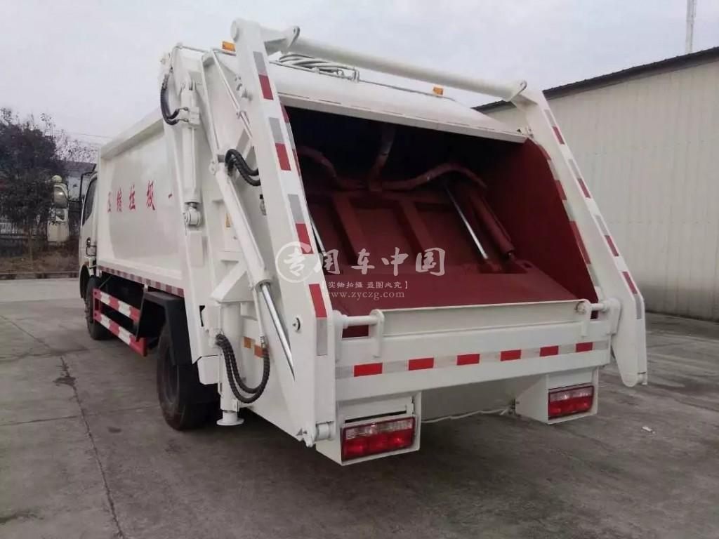 东风6方压缩式垃圾车
