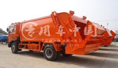 江淮10方压缩式垃圾车