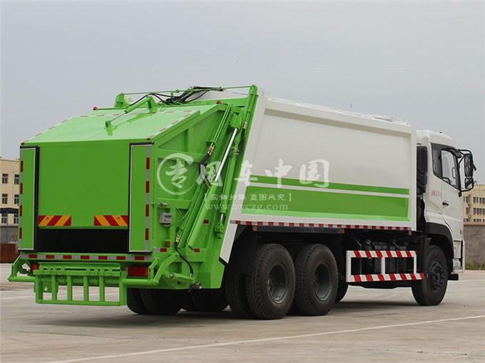 东风18方压缩式垃圾车图片2