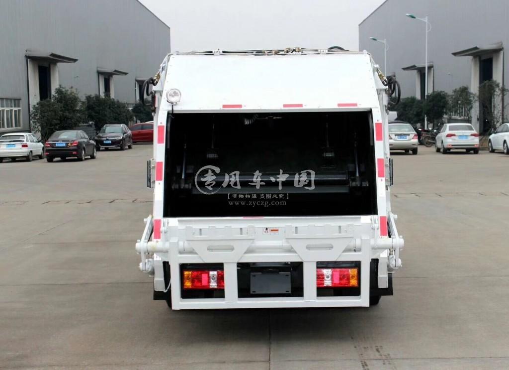 福田6方压缩式垃圾车图片1