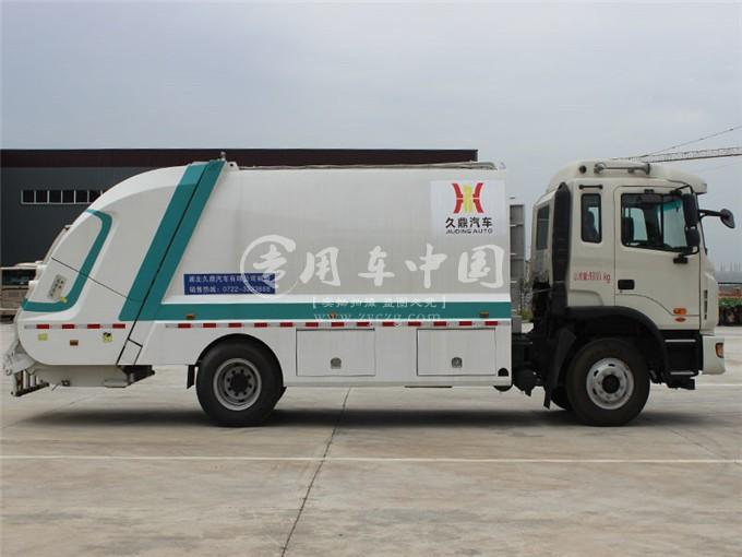 江淮12方压缩式垃圾车图片2