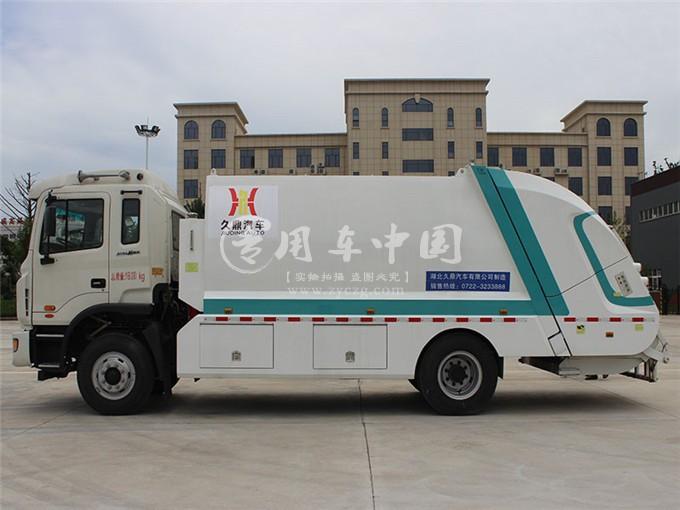 江淮12方压缩式垃圾车图片3