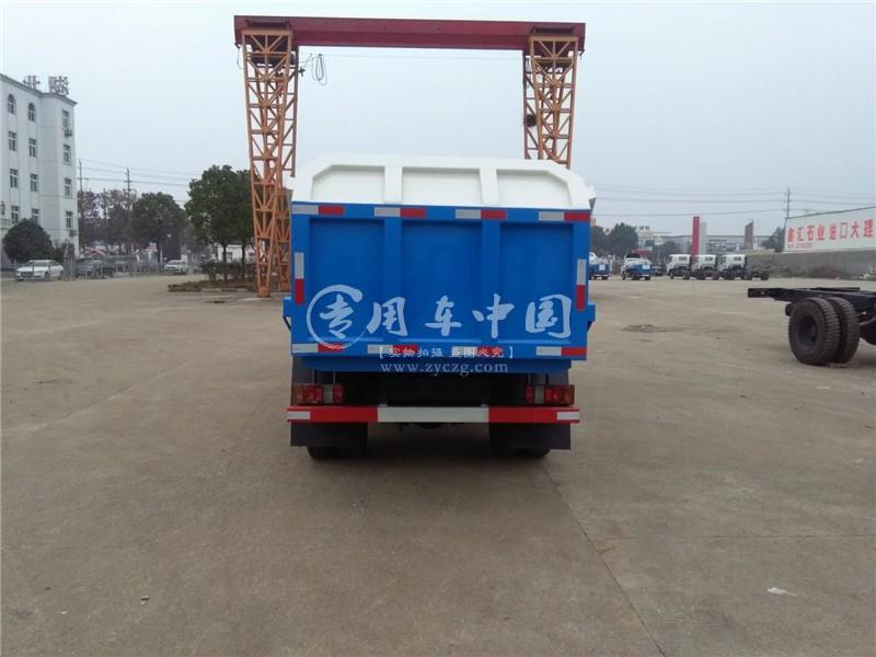江铃5方挂桶式垃圾车