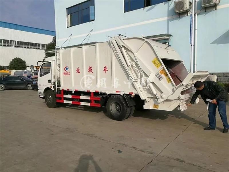 凯普特5方压缩式垃圾车