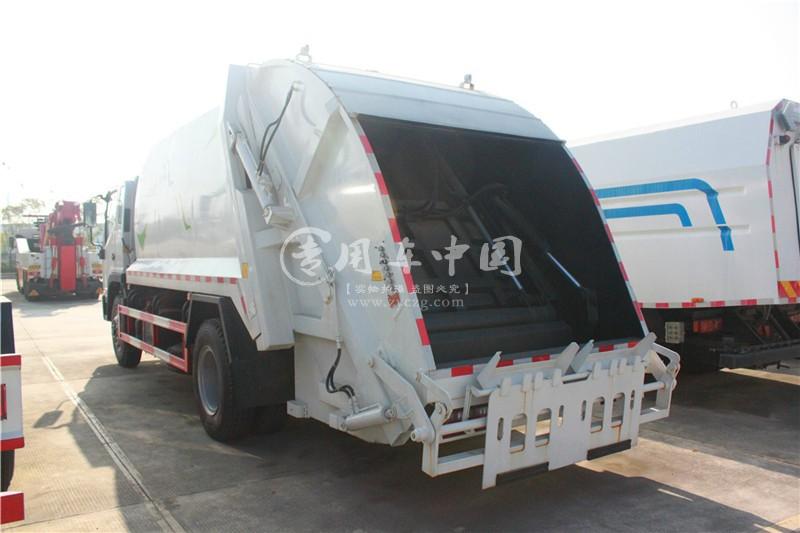 江淮3方压缩式垃圾车图片2