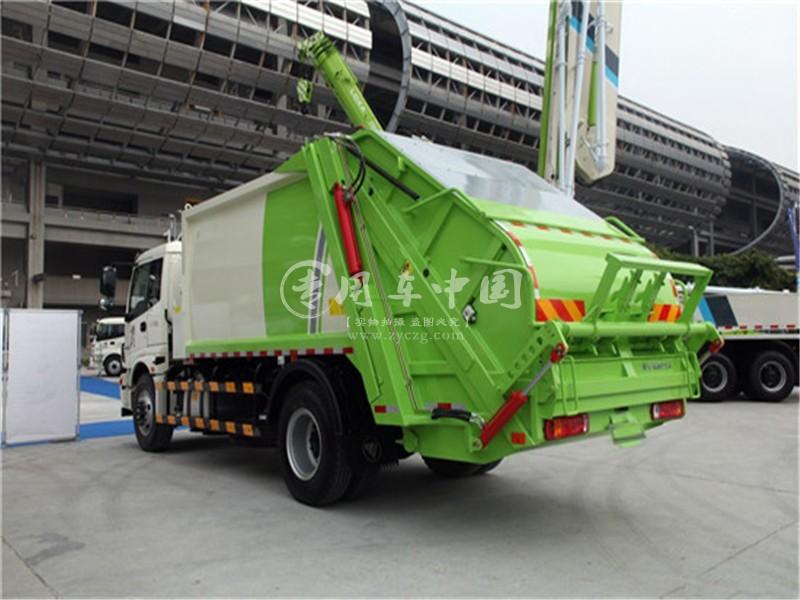 欧曼10方压缩式垃圾车