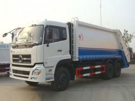 东风天龙16方压缩式垃圾车