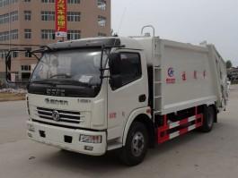 东风5方压缩式垃圾车