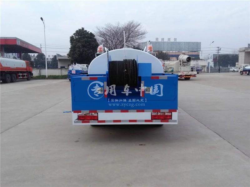 东风4方高压清洗车
