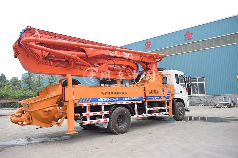 御虎35米混凝土泵车
