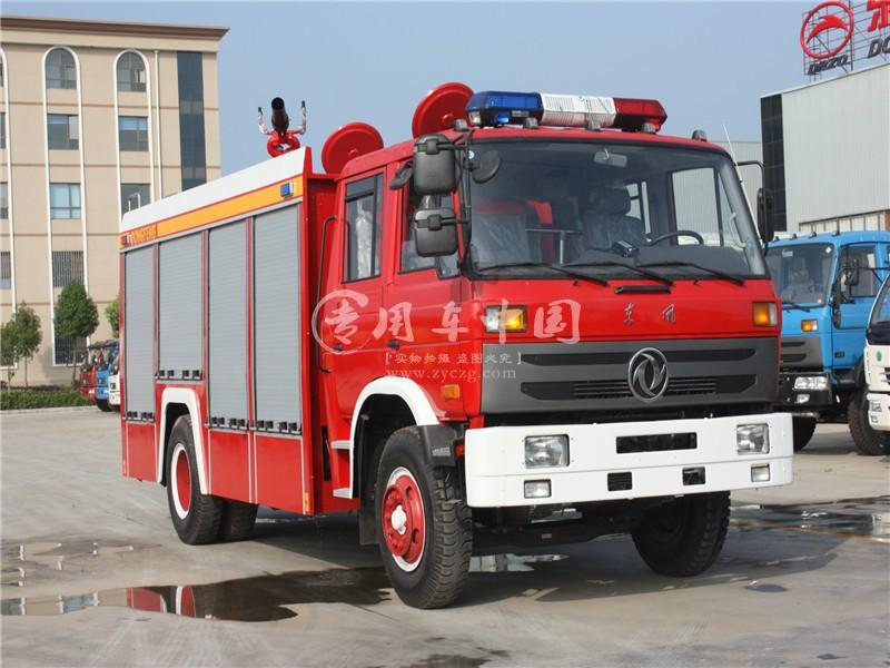 东风6方泡沫消防车