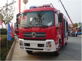 东风7方水罐消防车