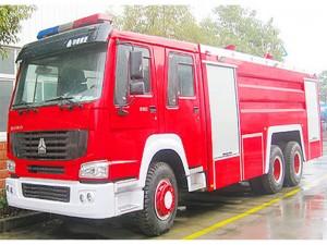 重汽15吨消防车