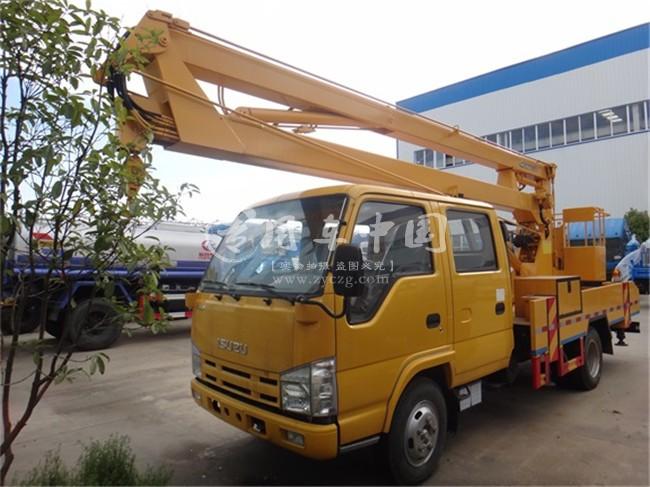 五十铃12米高空作业平台车