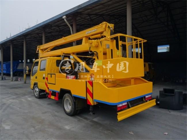 江淮16米高空作业平台车