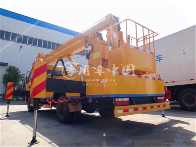 东风12米高空作业平台车