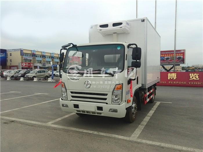 大运3.7米冷藏车