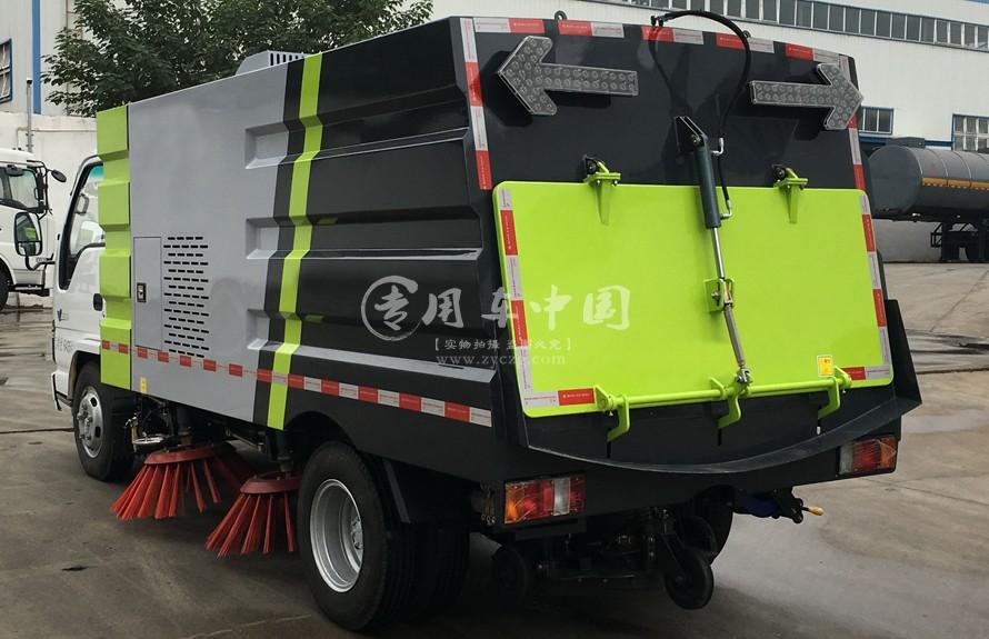 东风天锦12方扫路车