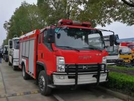 凯马5方水罐消防车 (5)