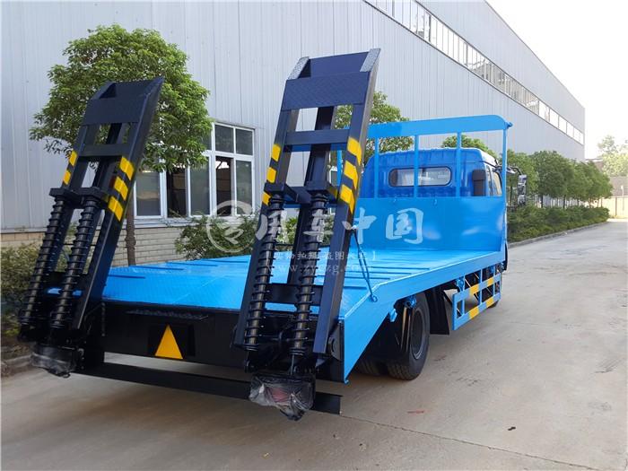 东风单桥平板运输车