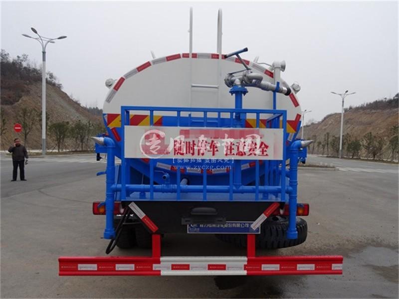 东风天锦12吨市政洒水车图片