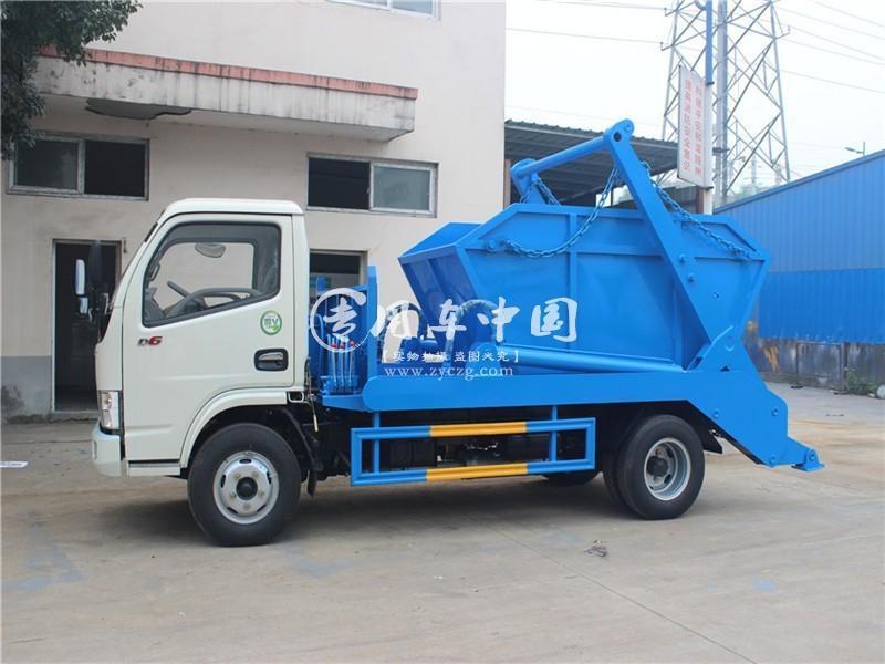 东风4方生活垃圾车图片