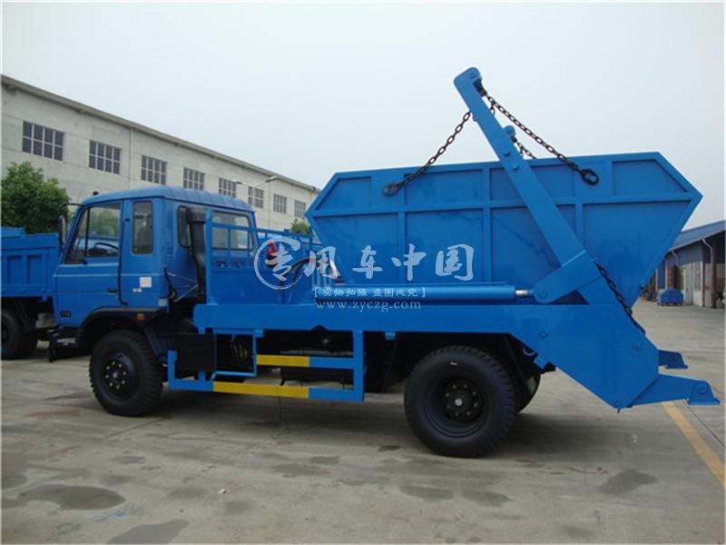 东风8城市垃圾车图片
