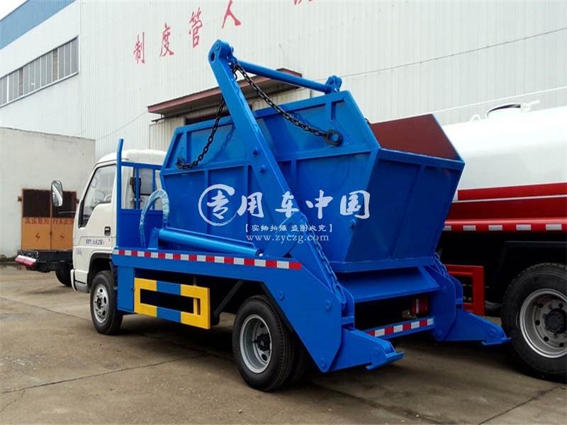 福田4方城市垃圾车图片