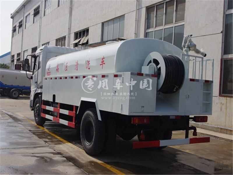 东风天锦12方高压清洗车图片