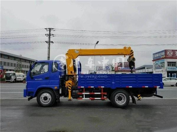 福田瑞沃4吨随车吊图片
