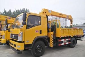 东风特商新飞工6.3吨随车吊价格21.5万