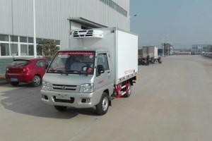 福田驭菱2.9米冷藏车【结构简单易清洁】