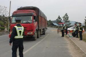 哈尔滨整治交通违法 让大货车不再疯狂