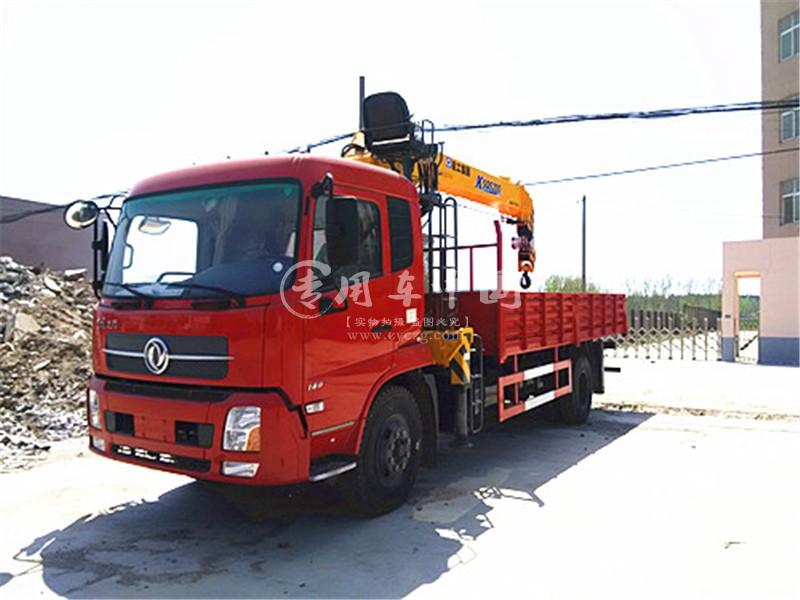东风天锦5吨随车吊图片