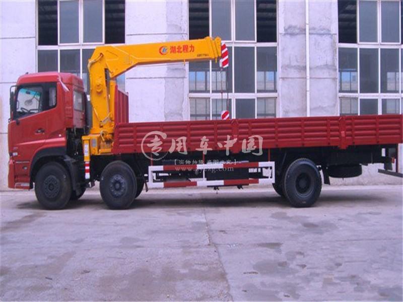 东风天龙8吨随车吊图片