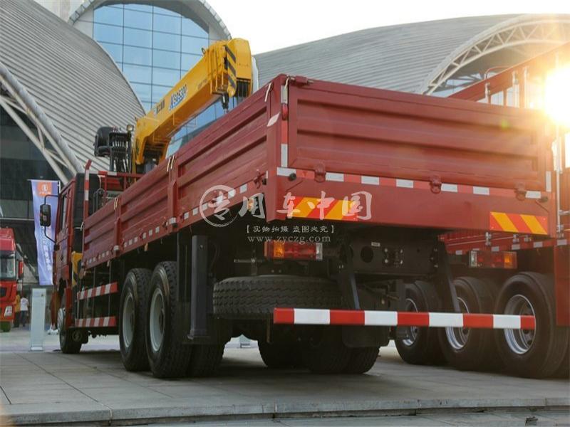 陕汽德龙10吨随车吊图片