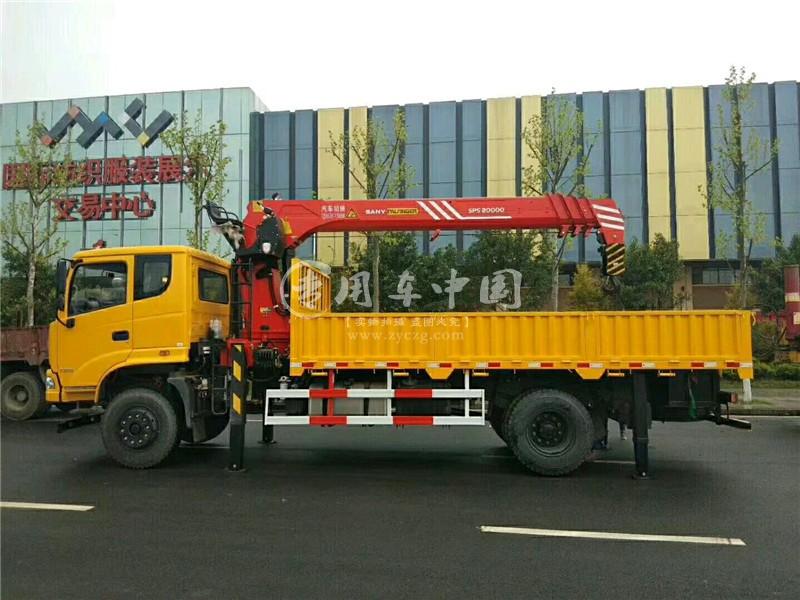三环昊龙6.3吨随车吊图片