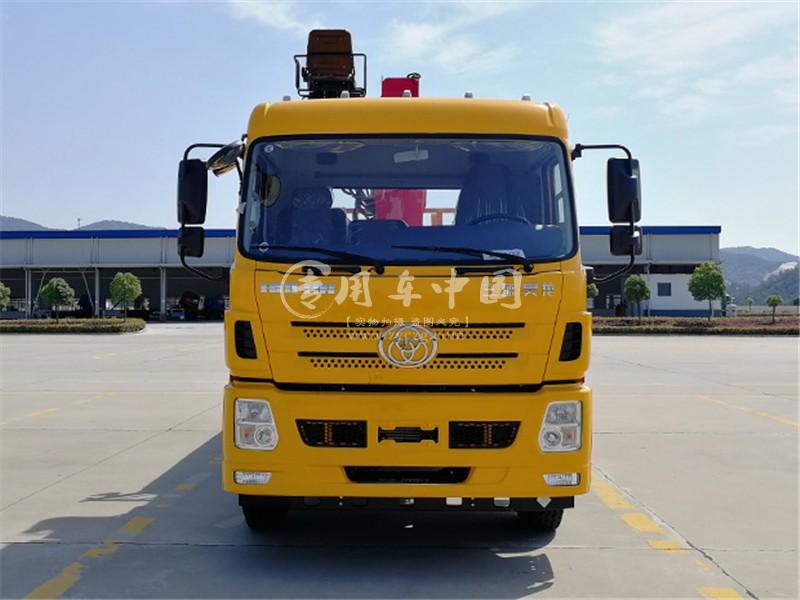 三环昊龙12吨随车吊图片