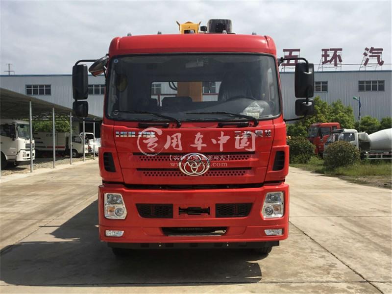 三环昊龙16吨随车吊图片
