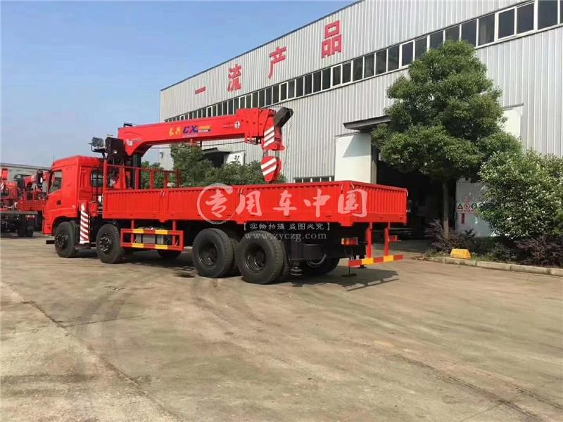 程力三环昊龙18吨随车吊图片三