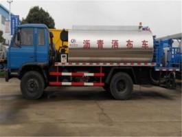 程力东风153 8吨沥青洒布车