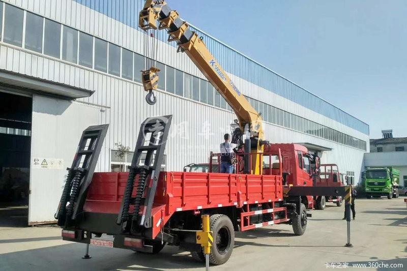 程力东风专底6.3吨随车吊图片一