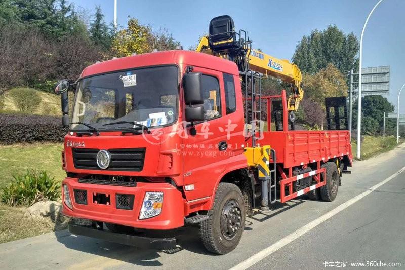 程力东风专底6.3吨随车吊图片三
