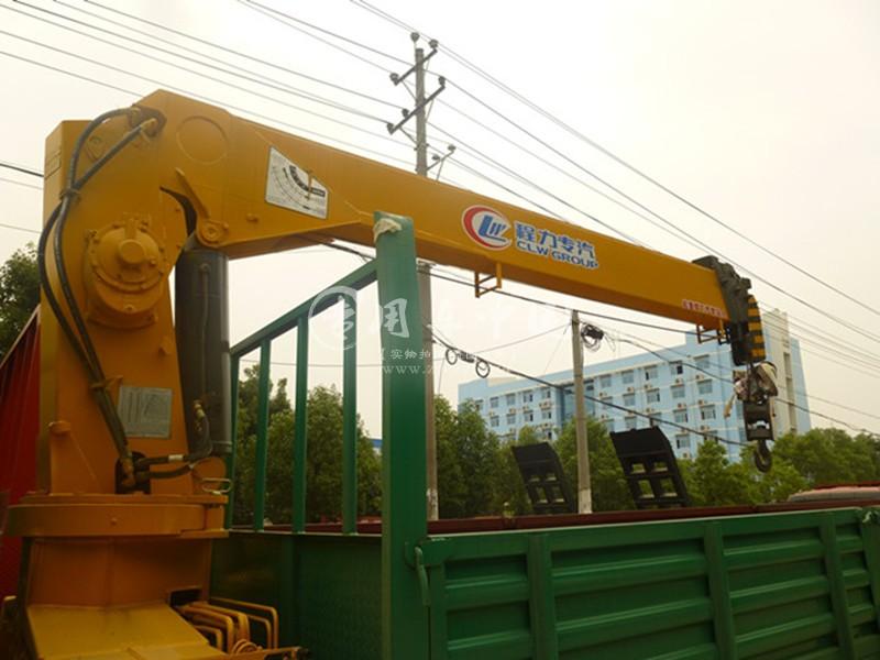 程力东风多利卡6.3吨随车吊图片三